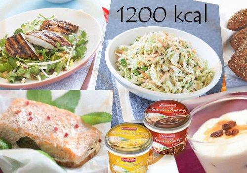 1200 калорий на день плюс вкусняшки